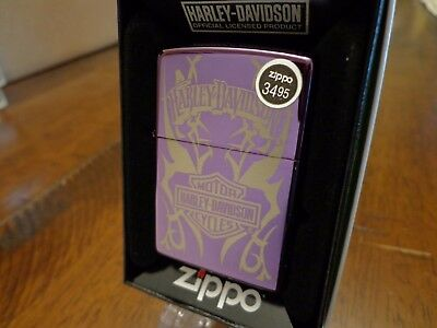 Harley Davidson  #24954 Zippo Lighter Mint In Box 2010