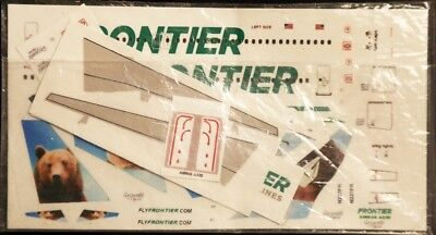 1/200 Decal Frontier (neue Farben) Airbus A320 Motiv Grizwald Bear