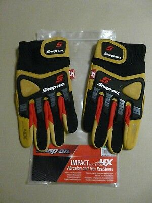 Snap On Impact Gloves With 4X Material Size X Large New