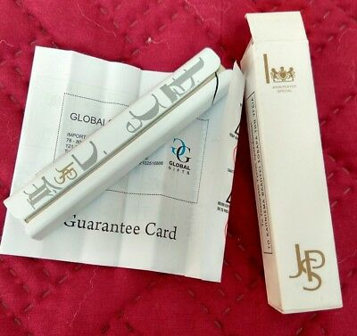 NEW LIGHTER SLIM White PROMOTIONAL JOHN PLAYER SPECIAL JPS +guarantee card