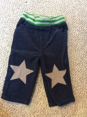 baby boden boy navy blue corduroy 6-12 month baby star