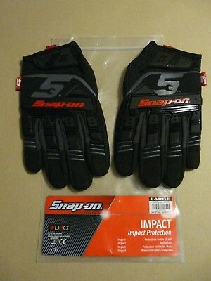 Snap On Impact Protection Gloves Size Large New