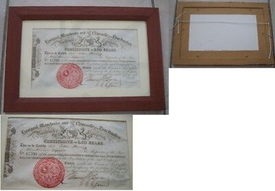 Liverpool Manchester & Newcastle Upon Tyne Junction Rly Share Certificate 1846
