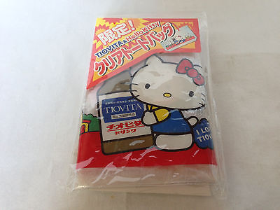Hello Kitty limited clear tote bag Chiobitadorinku