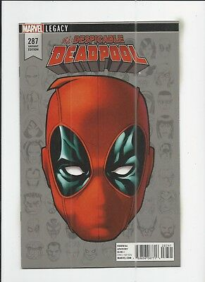 Deadpool #287 Mike McKone 1:10 Headshot Variant Cover (VF/NM) condition