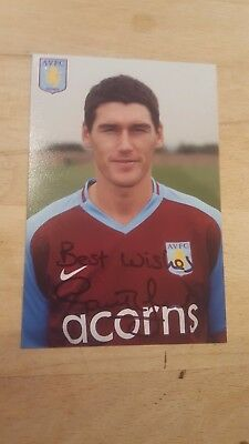 Gareth Barry Signed Photo