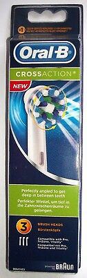 "Brossettes oral b ""CrossAction"" x 3 Promotion - 20% - BRAUN"