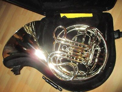 CG CONN 8D PROFESSIONAL DOUBLE FRENCH HORN - Near Perfect Condition !!! WOW !!!
