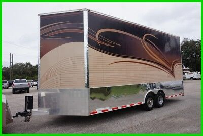 2011 FOREST RIVER 22 X 8.5 V NOSE STACKER Used