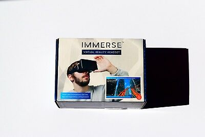 IMMERSE Virtual Reality Headset For Any Smartphone