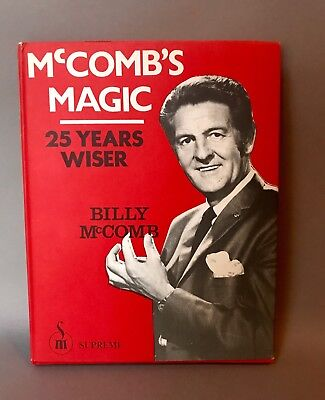 McComb's Magic:25 Years Wiser SIGNED Special Collector's Series #8