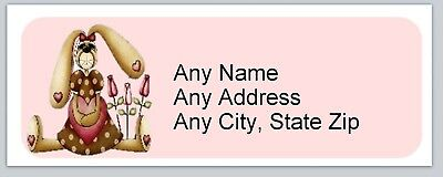 Personalized address labels Primitive Country Rabbit Buy 3 get 1 free (xac 831)
