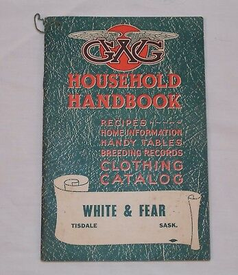 1943 GWG Great Western Garment Co. Household Handbook & Catalogue Advertising