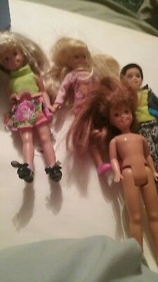 Lot Stacie and Todd dolls and clothes and shoes