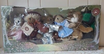 Boyd's Bears Plush Bears Set/6 The Wizard Of Oz ***new In Box****