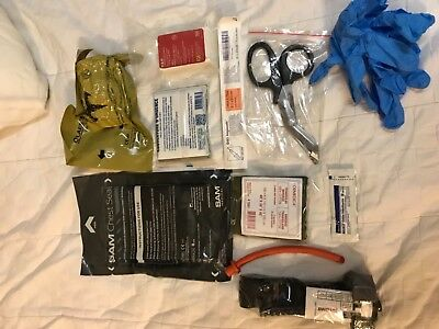 Complete Medical IFAK Trauma Kit w CAT Tourniquet G7 and Sam chest seal