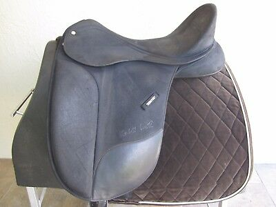 """LOVELY!! 17-1/2"""" Wintec Isabell Werth Dressage Saddle - Adjustable tree + Cair"""