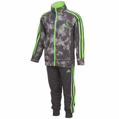 NEW NWT ADIDAS Kids SIZE 7 BOYS 2-Piece Track Suits  Zip-Up FAST SHIPPING COMFY
