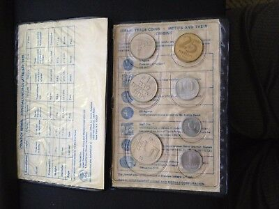 Coins Of Israel- Official Uncirculated Set, 1979