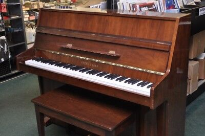 Young Chang 85-Note Console Piano Brown