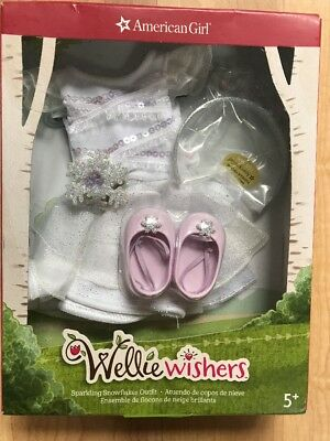 American Girl Wellie Wishers Sparkling Snowflakes Outfit  Limited Edition 2017