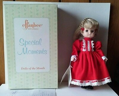 Effanbee Special Moments Doll of the Month February Violet FB3302