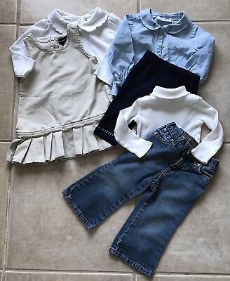 Lot Of Girls Fall/Winter Clothes Size 18 Months Cute Nice Outfits