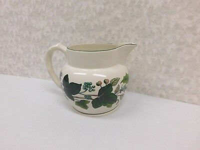 Spode Christmas Green Garland Milk Jug S3432Z ~Made In England~