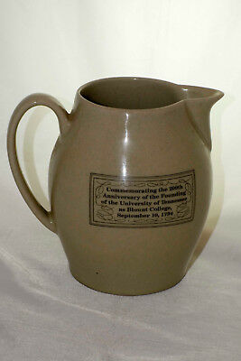 Pigeon Forge Pottery University of Tennessee Commemorative Pitcher