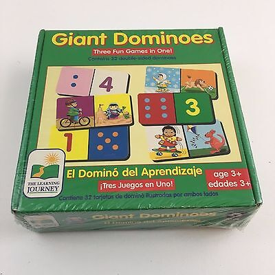 Giant Dominoes Three Games In One By Learning Journey Children Kids Fun Teaching