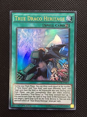 TRUE DRACO HERITAGE - (MACR-EN054) - Ultra 1st Edition - Yu-Gi-Oh Maximum Crisis