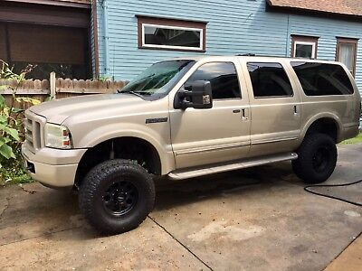 2005 Ford Excursion Limited 2005 excursion Bulletproof ARP headstuds 6.0 DSL Powerstroke lifted FORD