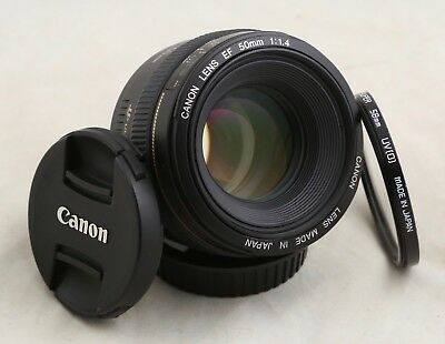 Canon EF 50mm F/1.4 USM Lens 1.4 - Near Mint - Free Shipping for EOS 5D 6D 7D