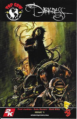 Darkness # 1 Volume 2 2006 convention exclusive colored cover