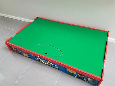 LARGE Lego storage table on wheels. 120cms x 73cms x 20cms. 3216 Pick Up only.