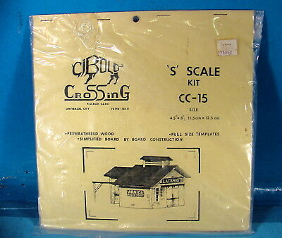 BH S SCALE Sn3 CIBOLO CROSSING CC-15 BLACKSMITH SHOP CRAFTSMAN STRUCTURE KIT B