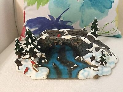 Department Dept 56 Heritage Village Mill Creek Bridge. 52635 New but with issues