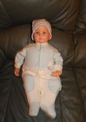 "18"" Gotz  Soft Body Baby Doll - Believe 2007 - Play Or To Reborn"