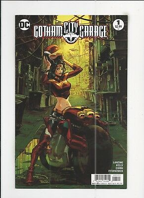 Gotham City Garage #1 Dan Panosian Variant Cover very fine+ (VF+) condition