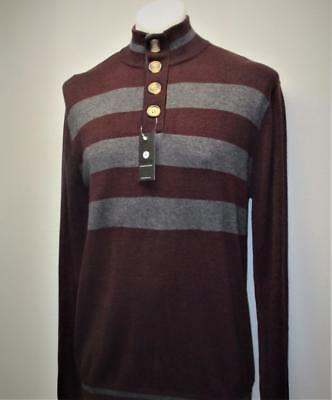 New Mens XL HORST Authentic Mann pullover wool & acrylic long sleeve sweater
