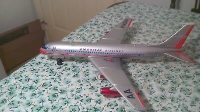 Vintage American Airlines Boeing 707 Battery Operated Tin Jet Airplane