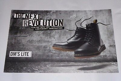 official DR. MARTENS large retail store sign POSTER promo 2017 boots journeys