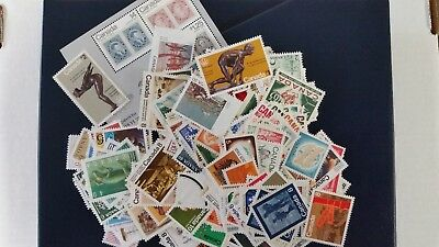 $50.00 Face Value Canada Postage. All Mint,Never Hinged,Full Gum, All Different