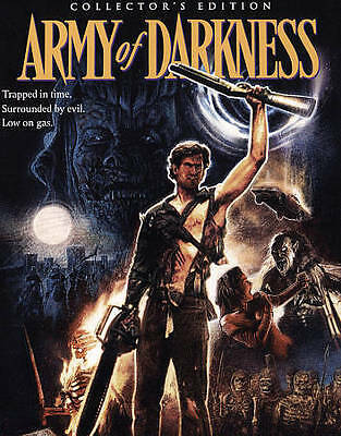 Army of Darkness (Blu-ray Disc, 2015, 3-Disc Set) Collector's Edition