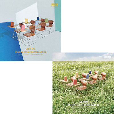 ASTRO [DREAM PART.02] 5th Mini Album CD+POSTER+Photo Book+4p Card K-POP SEALED