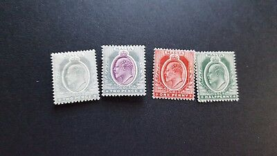 malta stamps scott 30,32 to 34  mhog scv 27.00 m1119