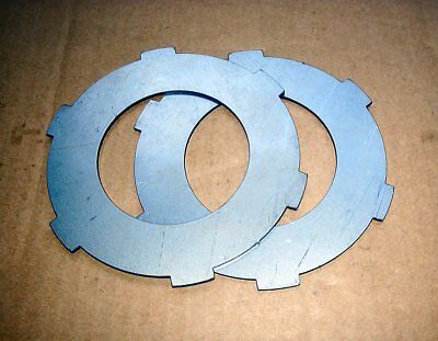 Bsa Bantam Steel Clutch Plates Set Of Two For 3 Speeders! Uk Made! Quality A804