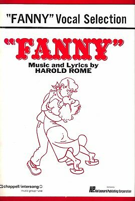 "Ezio Pinza ""FANNY"" Florence Henderson / Harold Rome 1954 Vocal Selections"
