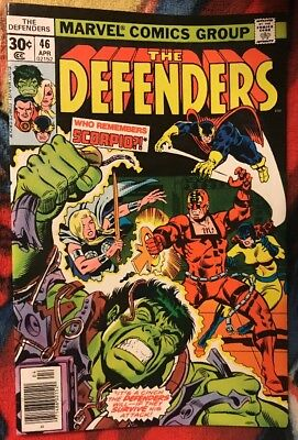 Marvel DEFENDERS 46 VF ***$3.98 UNLIMITED SHIPPING***