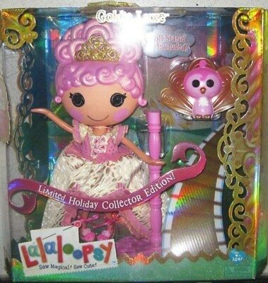Lalaloopsy - Goldie Lux , Limited Holiday Collector Edition! ( Large Doll) *mib*